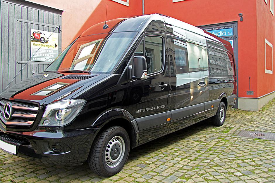 Mercedes Sprinter - Fahrzeugwerbung