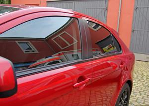 Mitsubishi Lancer - Teilfolierung Scheibentönung
