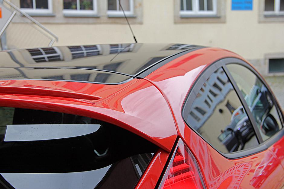 Ford Fiesta St Teilfolierung Dach Autofolierung In Dresden