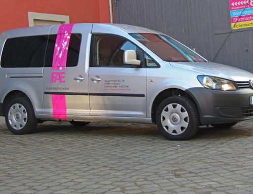 Fahrzeugflotte – Firmenwerbung