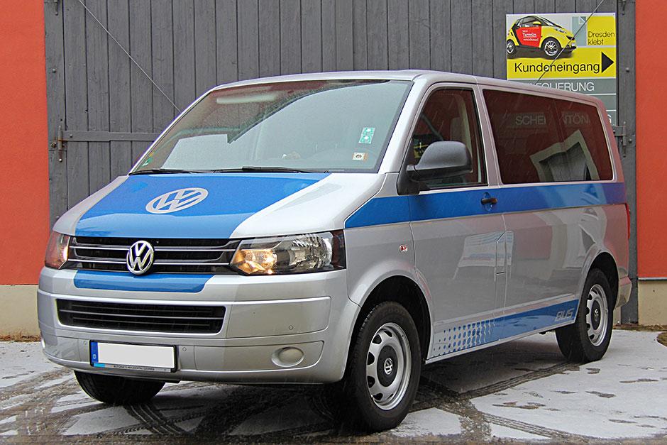 VW T5 Bus Teilfolierung