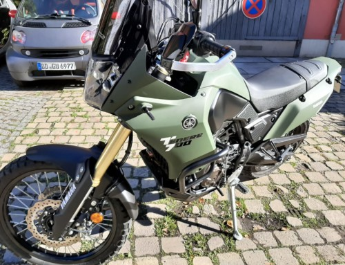 Yamaha Motorradfolierung