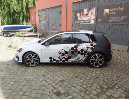 VW Golf GTI Designfolierung