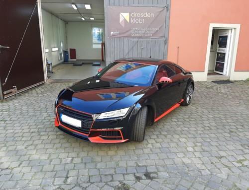Audi TT Teilfolierung