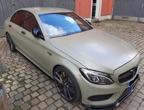 Mercedes-AMG Vollfolierung